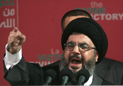 Hezbollah leader vows support for Hamas despite Syria rift