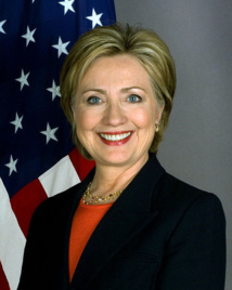Clinton says goodbye in global TV interview
