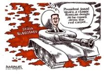 Syria rebels target Assad as missile toll mounts