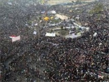 Egyptians protest for army to return to power