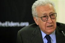 Brahimi suggests UN arms embargo on Syria conflict