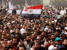 Egypt urges peaceful demos as panel works on charter