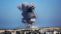 Remnants of war become art in Gaza