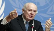 Syria barrel bomb attacks 'unacceptable': UN envoy