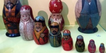 The changing face of Russia's emblematic matryoshka dolls