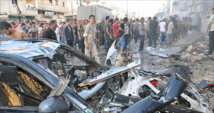 Syria regime air raids, rebel fire on Damascus kill 50: monitor