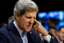 Kerry condemns Palestinian attacks as he meets Israel PM