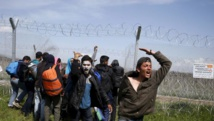 refugees protest after woman dies in Greek camp