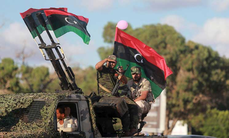 Anti-IS forces retake central area in Libya's Sirte