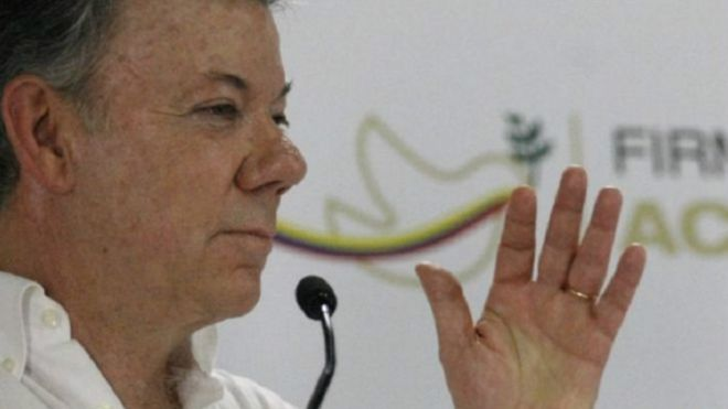 In divided Colombia, split reactions to Nobel prize