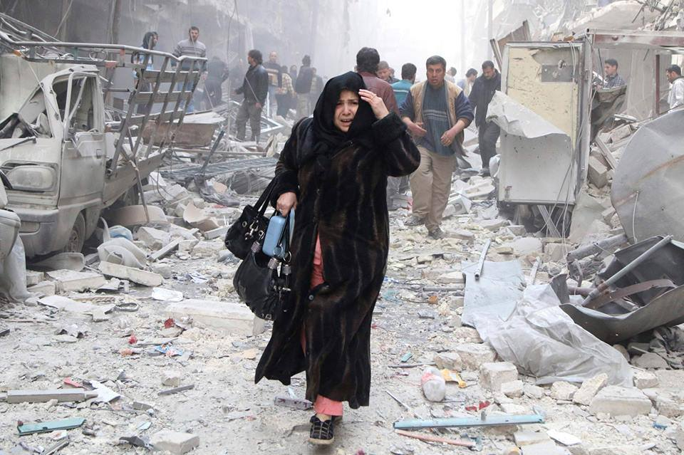 We are watching the destruction of Aleppo. Where is the rage?
