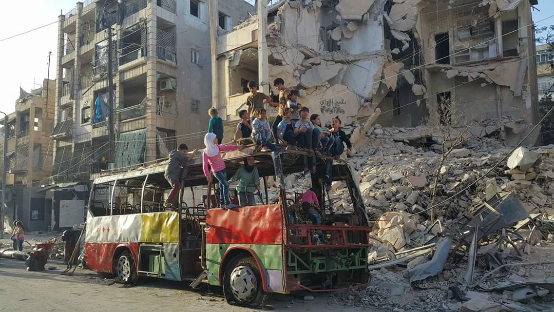 Aleppo evacuation routes deserted as ceasefire ends