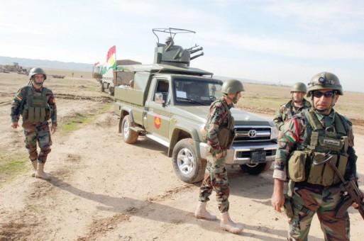 Iraqi Kurds seize IS-held town near Mosul