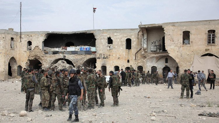 Syria forces take third of rebel-held Aleppo, civilians flee
