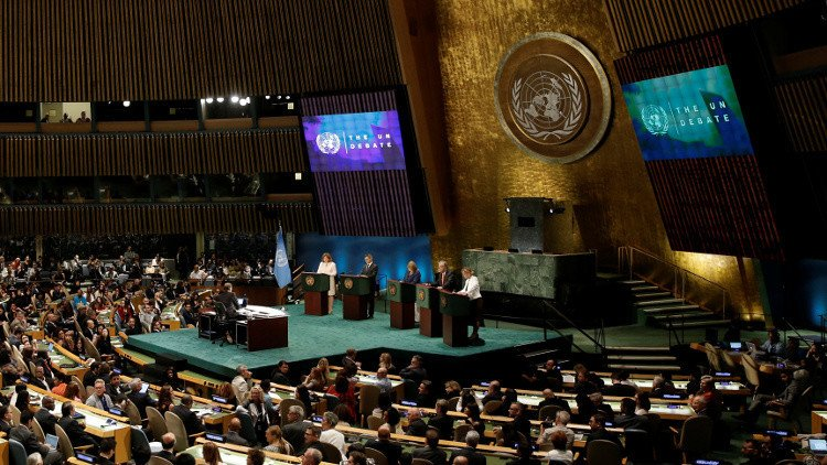 Civil society groups urge UN General Assembly action on Syria
