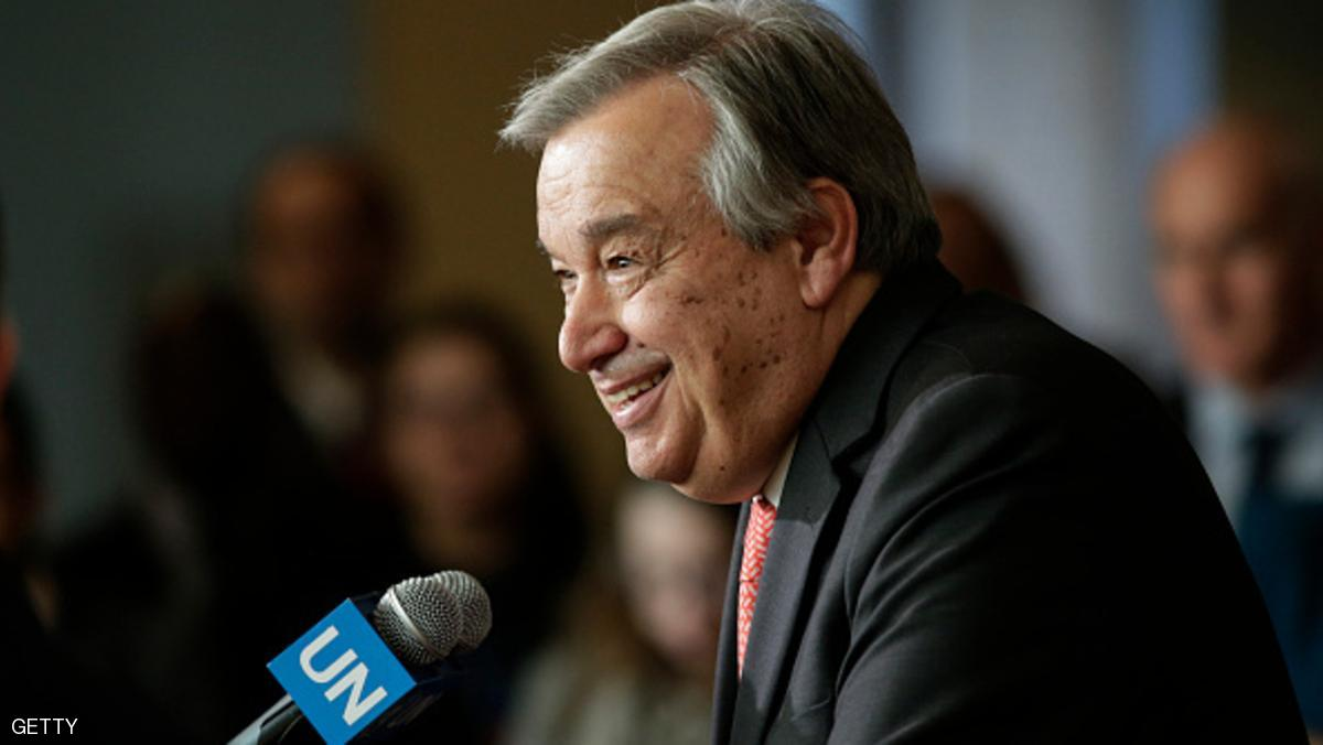 New UN chief aims to make 2017 'a year for peace'