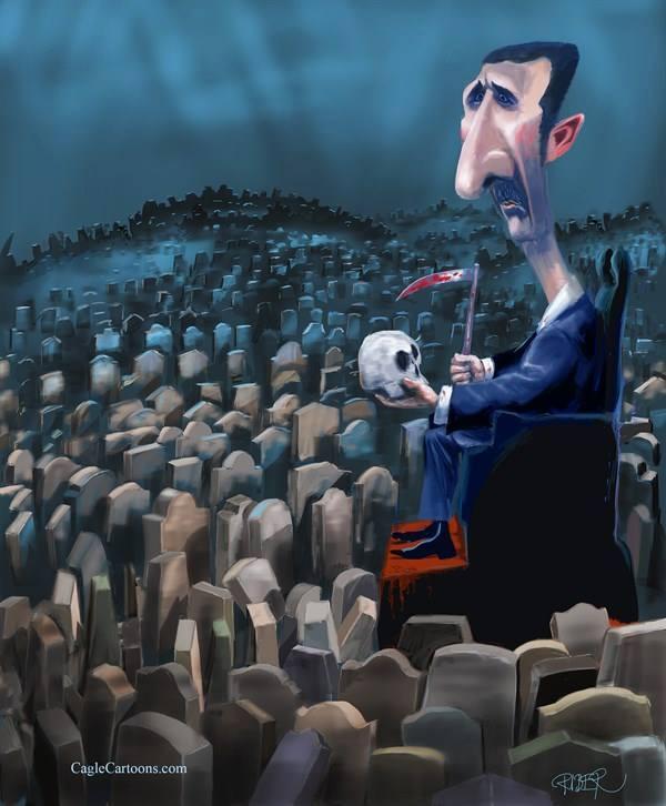 Syria's Assad vows to retake key area near Damascus