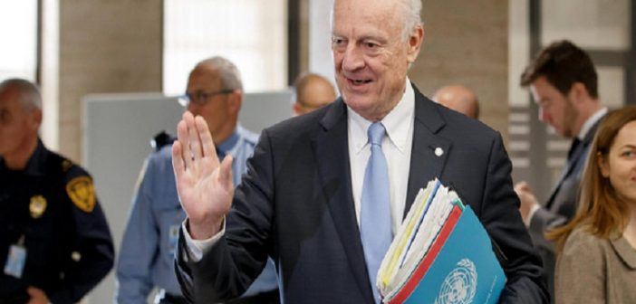 UN Syria envoy urges foreign powers to help restore ceasefire