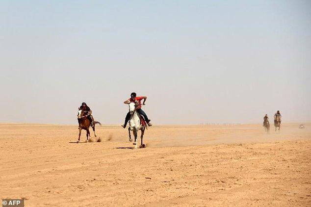 Rebel parts of Syria revive beloved Arabian horse races