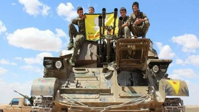 US begins sending arms to Kurdish fighters in Syria