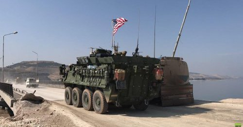 US-backed force pierces into IS Syria bastion from west