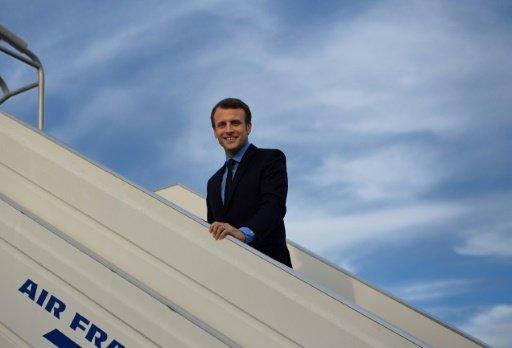 Macron in Morocco to discuss Libya, Qatar crisis