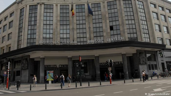 Explosion rocks Brussels train station, one suspect shot