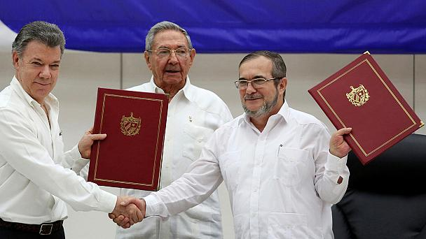 """""""An historic day"""": Colombia conflict with FARC officially over"""