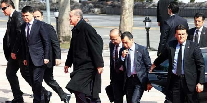 Focus on Kurdish referendum as Erdogan leaves for US