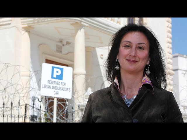 Explosive used by terrorists blew up Maltese journalist's car