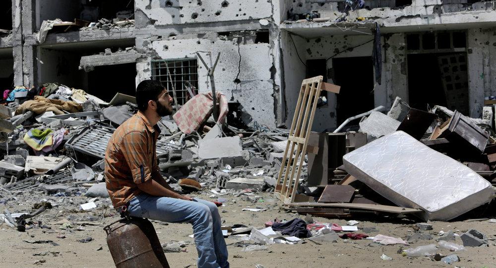 Seven killed, 11 injured in Israeli strike on Gaza tunnel