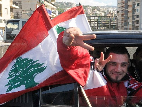 Lebanon teen death spurs 'selfie' anti-violence protest