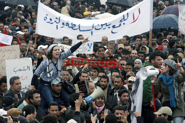 Arab Spring turmoil mutes Morocco protest movement