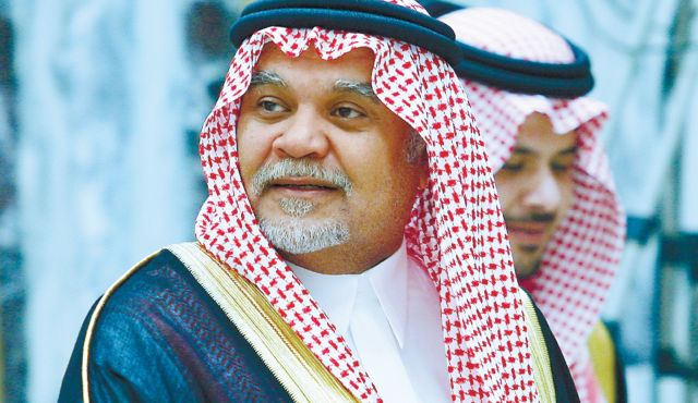 Saudi replaces veteran intel chief Prince Bandar