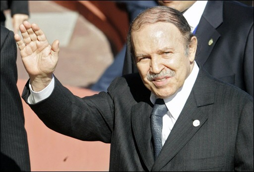 Bouteflika urges Algerians to vote, eyes fourth term
