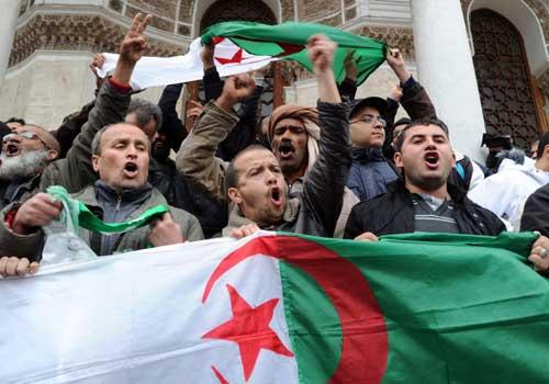 Berber protesters clash with Algeria police