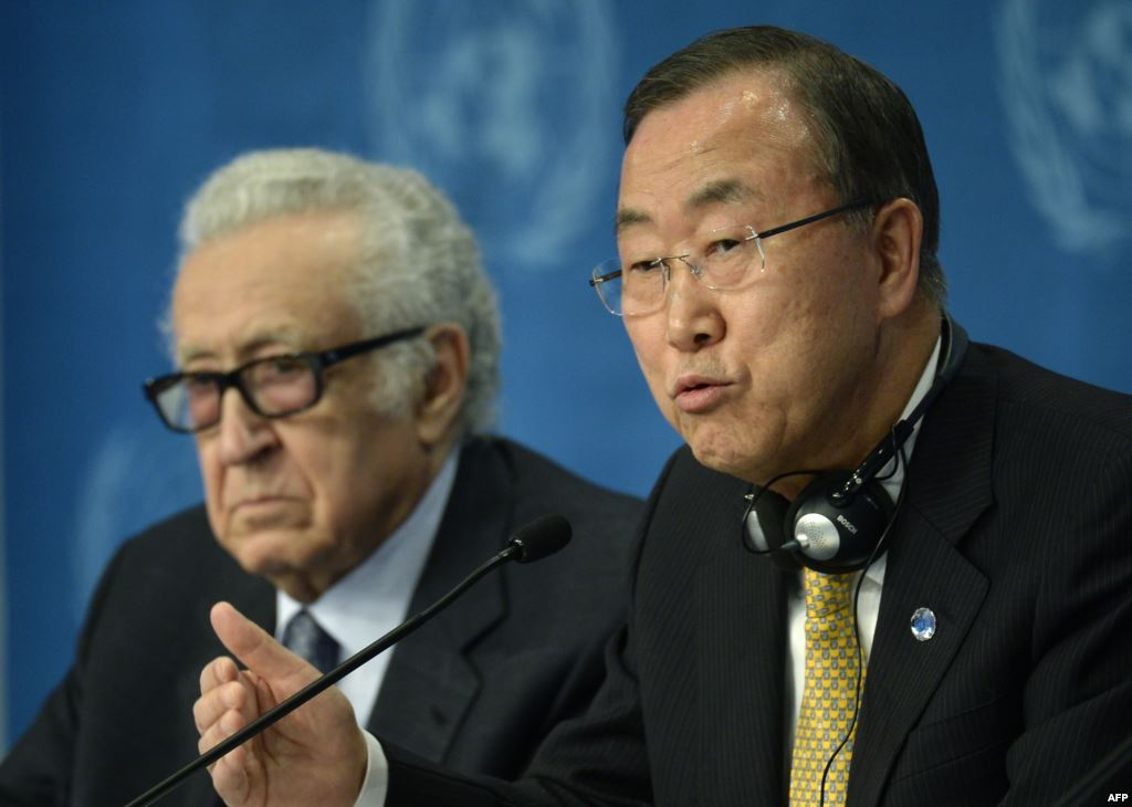 Syria peace envoy quits amid new chemical arms fears