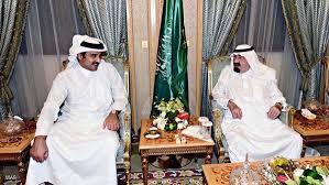 Qatar emir, Saudi king in talks: media