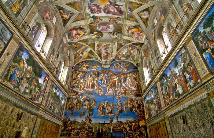 Sistine chapel dazzles after technological makeover
