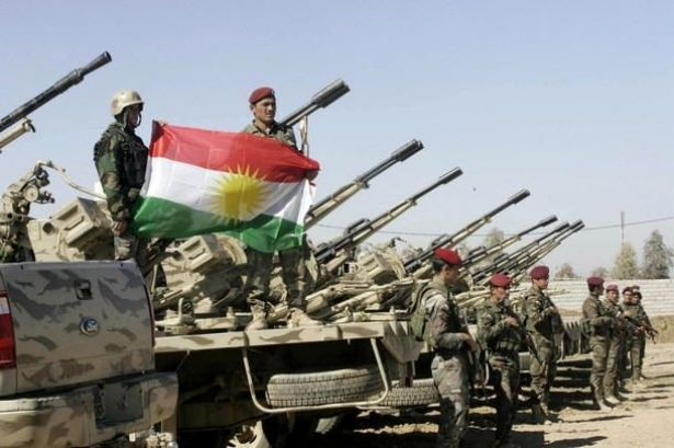 Peshmerga bolster Kurd defenders of Syrian town