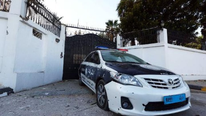 Bombs hit near Egypt, UAE embassies in Libya