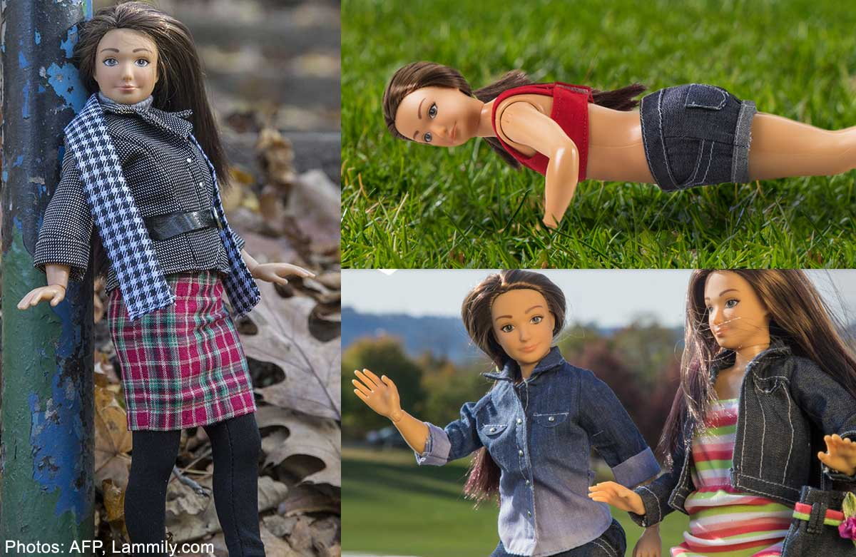 'Anti-Barbie' doll goes on sale on US