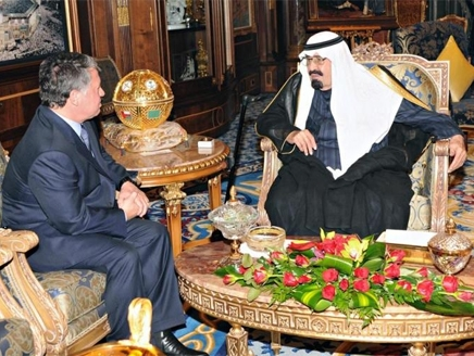 Jordan, Saudi kings in talks as they battle IS