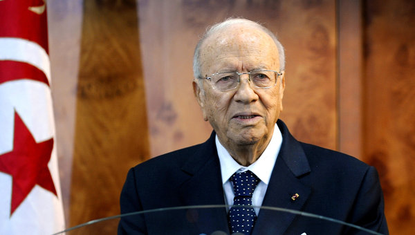 88-year-old Essebsi sworn in as Tunisia president