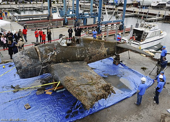 'Amazingly intact' WWII aircraft carrier found in Pacific
