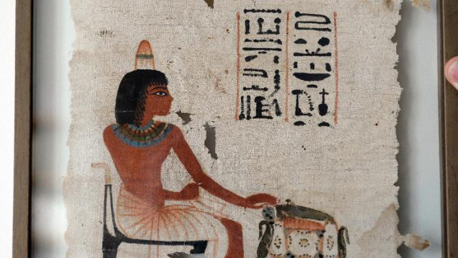 Rare ancient Egyptian shroud fetches 374,000 euros at auction