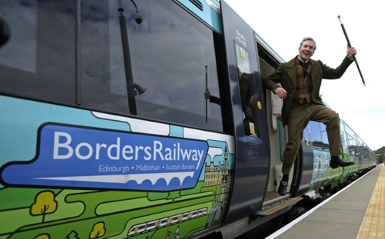 Scotland's 'Walter Scott Express' back on track