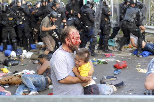 Children separated from families in Hungary border chaos: Amnesty