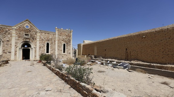 Syria monastery ravaged by IS was symbol of coexistence