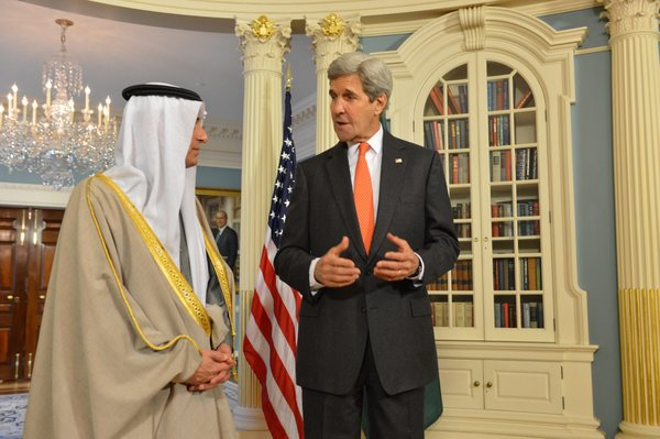 Kerry in Gulf to discuss human rights, conflicts